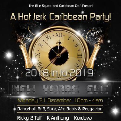 Hot Jerk Caribbean New Years Eve Party