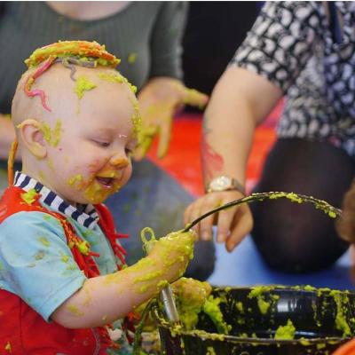Easter Eggstravaganza messy play party Heywood