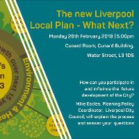 The new Liverpool Local Plan - What Next?