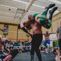 Live wrestling in Gillingham, Kent