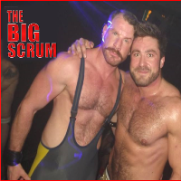 The Big Scrum XL at Manchester Pride!