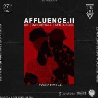 CTRL SHFT: Affluence pt.ll  w/ K More, Tom Agape, Hype