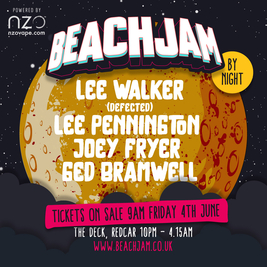 BeachJam by Night