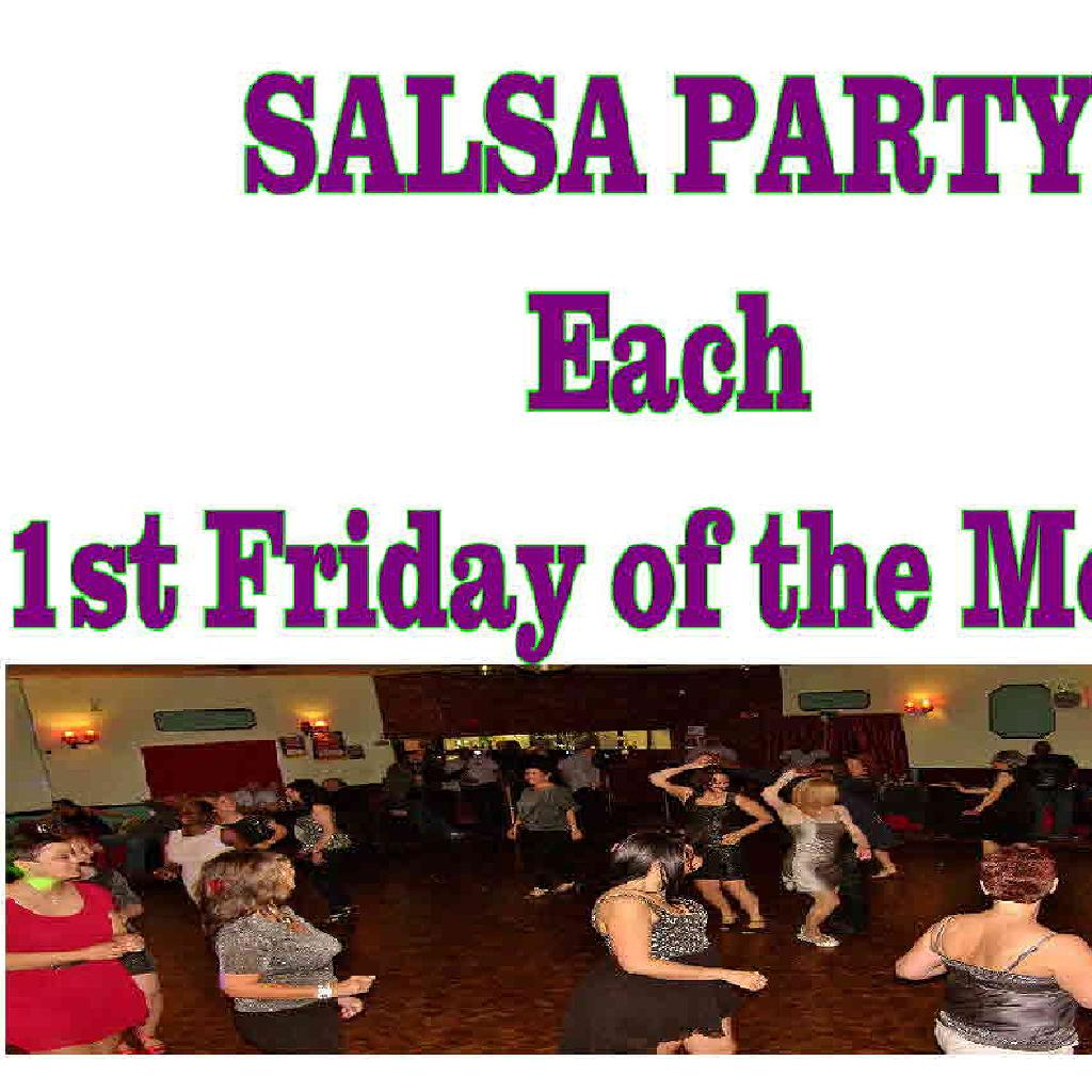 The 1st Friday Salsa Party
