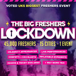 Manchester - Big Freshers Lockdown Pt.2  - in assoc. w/Boohoo