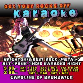Get Your Rocks Off Karaoke