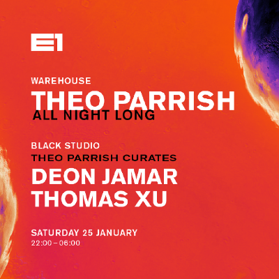 Theo Parrish all night long