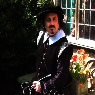 Walking tour with William Shakespeare