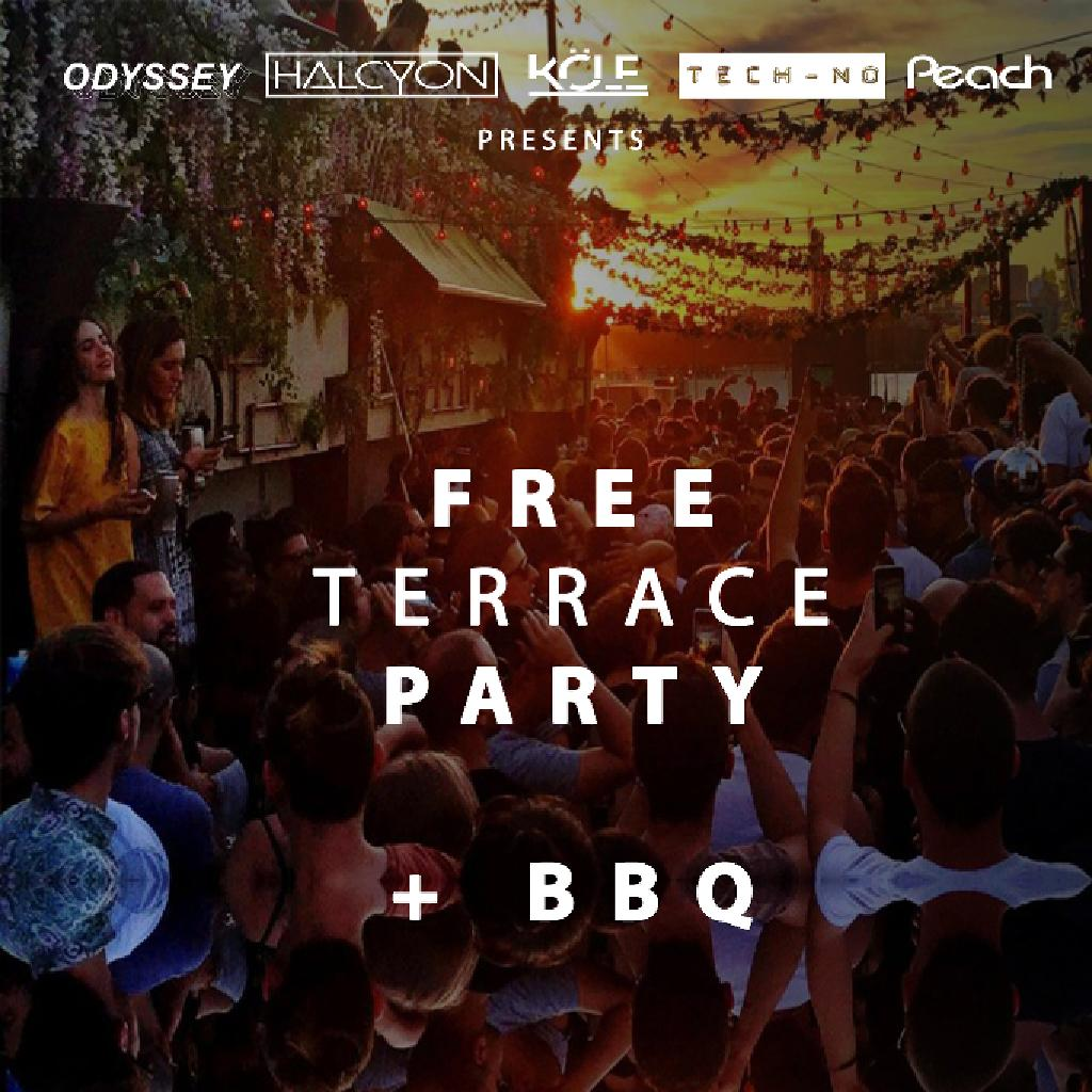Free terrace party day night tickets 57 blundell for Terrace party