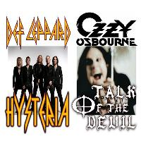 Hysteria and Talk of the Devil - Def Leppard and Ozzy tributes