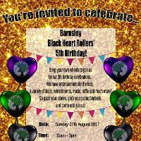 Barnsley Black Heart Rollers 5th Birthday Celebration