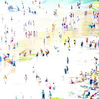 By The Beach: Photographs by Laurence de Vogüé