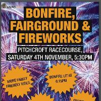 Bonfire, fairground, food stalls and Fireworks!