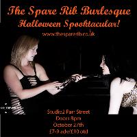 Halloween Burlesque Spooktacular at The Spare Rib