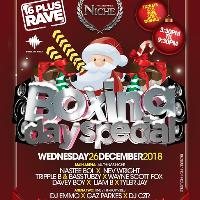 Niche & Re:wind with Bassline Bible present 16+ Rave Boxing Day