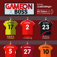 Game On x BOSS: Genk vs Liverpool Screening