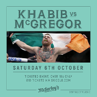 Khabib Vs McGregor Events Edinburgh McSorleys Bar
