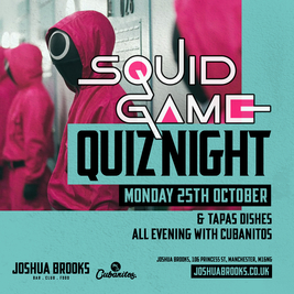 Squid Game Quiz at Joshua Brooks!