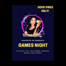 Hosted by DK: Games night