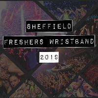 Sheffield official freshers week wristband 2019