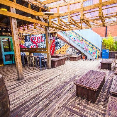 FREE RAVE: Bambu Rooftop w/ Rise, Heft, DJ Soc