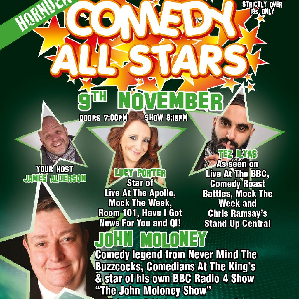 Comedy All Stars 9th November