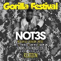 Gorilla Festival x Not3s