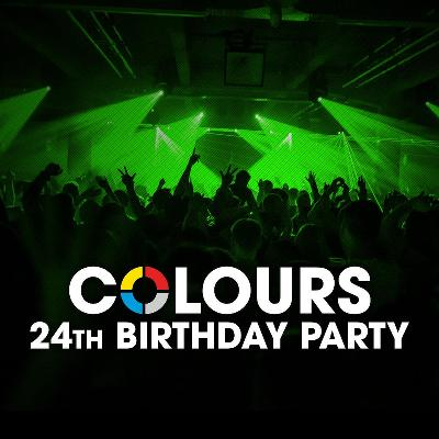 Colours 24th Birthday Party