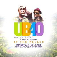 AT THE PALACE FESTIVAL w/ UB40 feat ALI & ASTRO