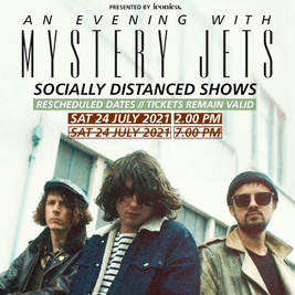 An evening with Mystery Jets