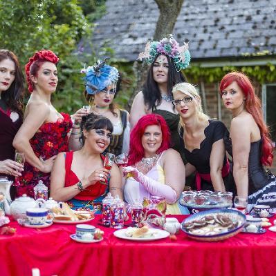 The Scarlet Vixens Present - Purple Peep Show