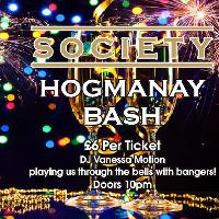 Hogmanay Bash at Society