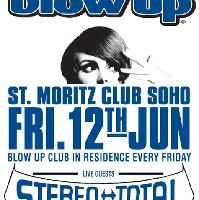 BLOW UP feat. STEREO TOTAL live + BLOW UP DJs
