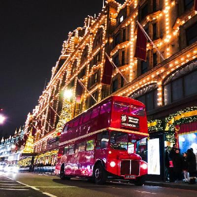 Party Bus Christmas Sparkle