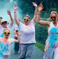 REDDITCH Go Bright for Sight Colour Run