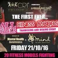 ALL GIRLS FITNESS MODELS THAI BOXING AND BOXING EVENT