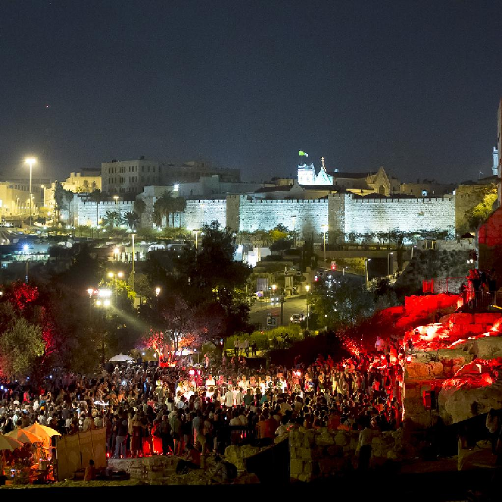 Colors of Jerusalem - traditions, festivals, mentality and lifestyle