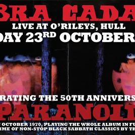 Sabbra Cadabra Paranoid 50th Anniversary Show