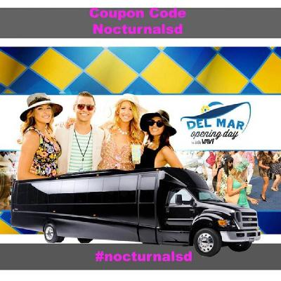 Opening Day Del Mar Party Bus 2019 Tickets | Del Mar Fairgrounds Del