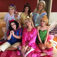 Princess pyjama party!
