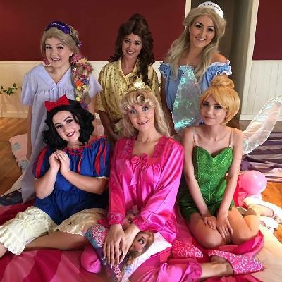Princess pyjama party!