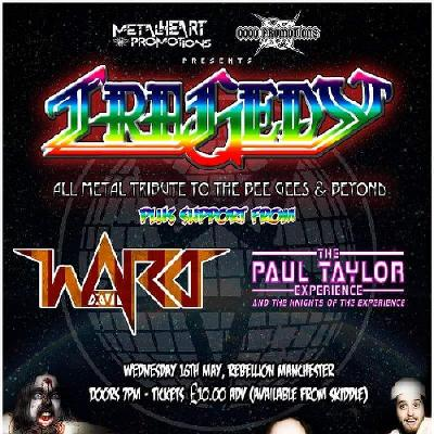 Tragedy The All Metal Tribute To Bee Gees Beyond Plus Support Tickets