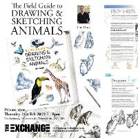 The Field Guide to Drawing & Sketching Animals private view
