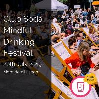 Club Soda Mindful Drinking Festival Summer 2019