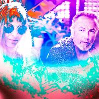 Steve Kilbey and Amanda Kramer