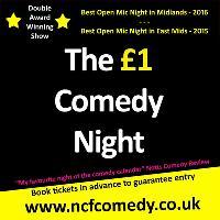 NCF Award Winning £1 Comedy Night