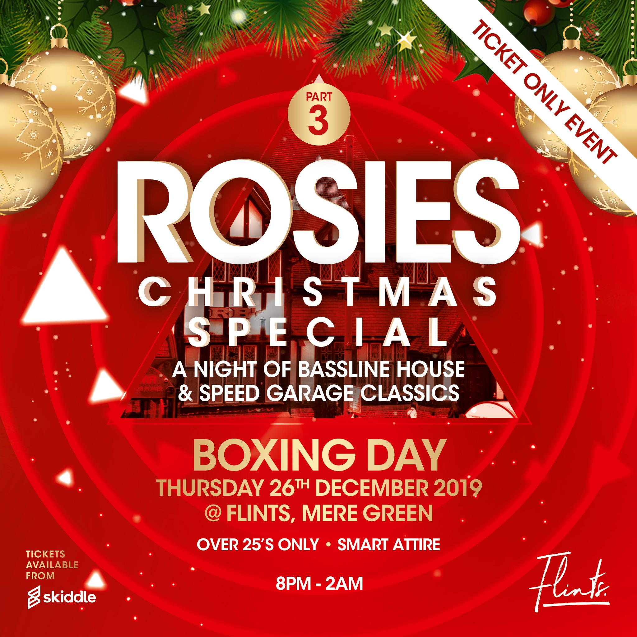 Green Day Christmas.Rosies Part 3 Christmas Special Boxing Day At Flints Bar Mere Green