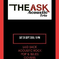 The Ask Acoustic Trio Live at the Jazz E.