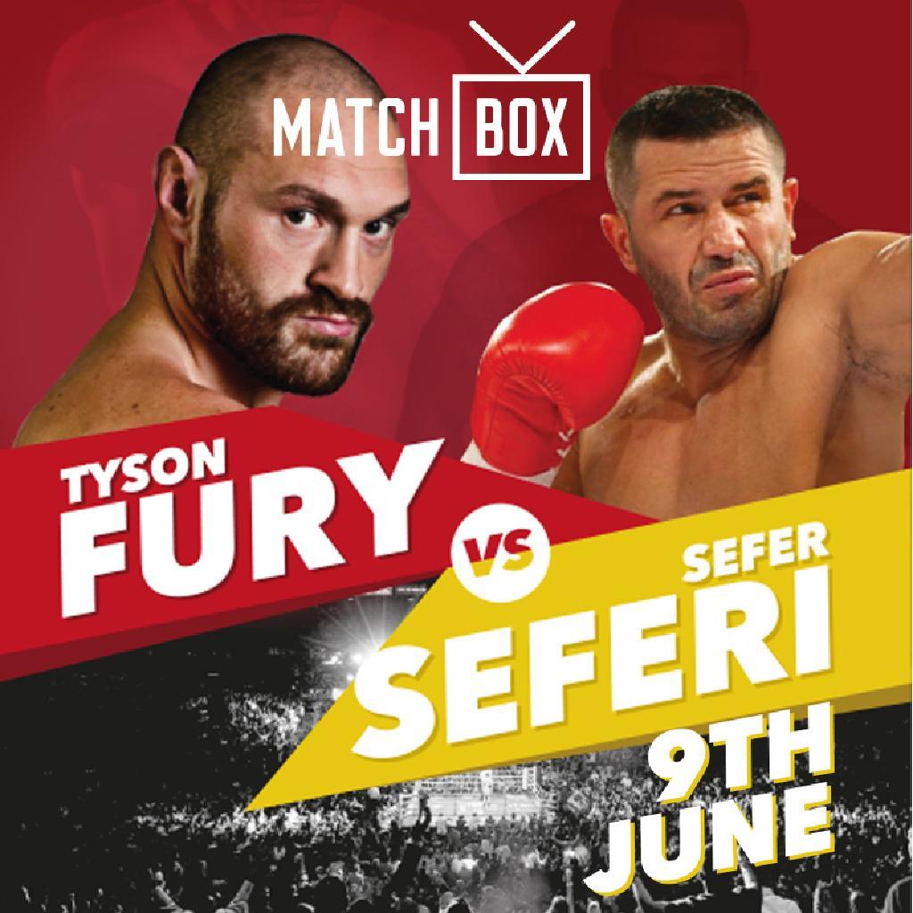 Tyson Fury V Sefer Seferi Tickets