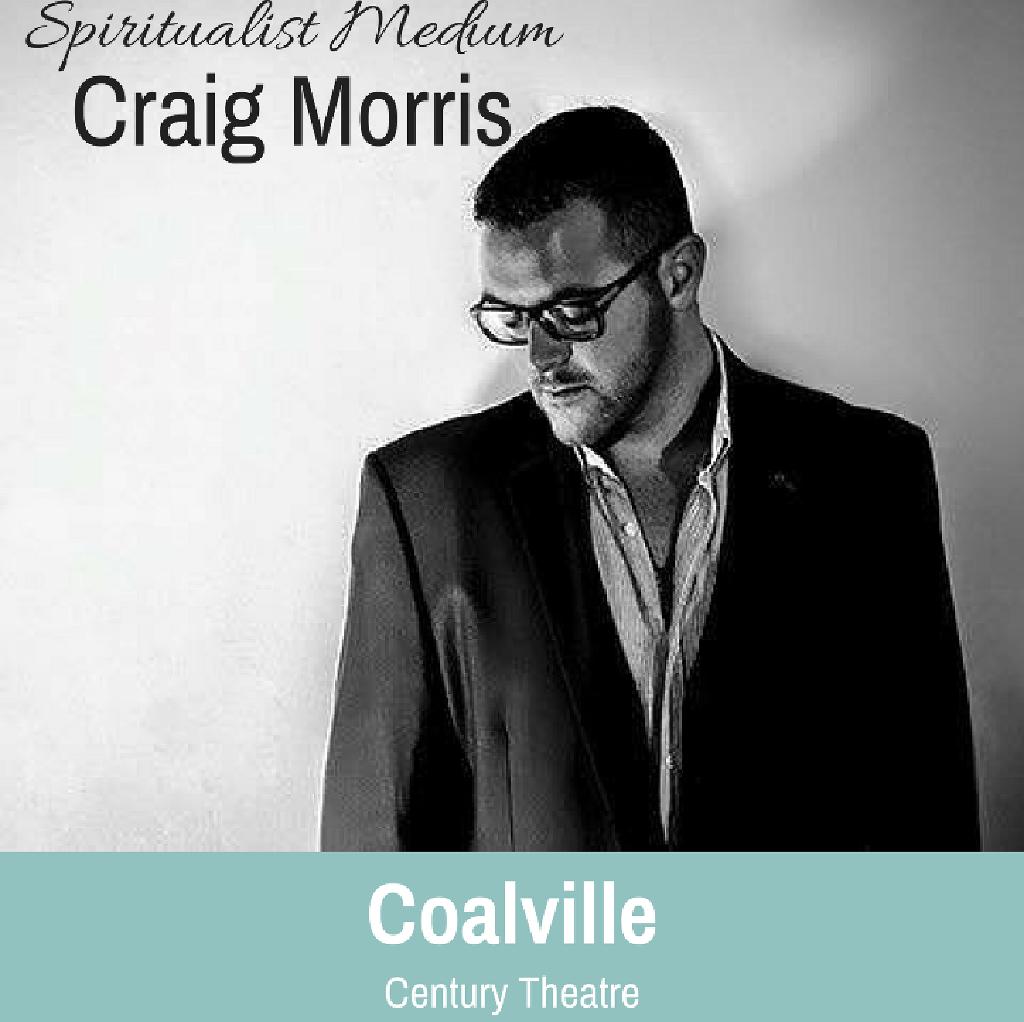 Spotlight Promotions Presents: Spiritualist Medium Craig Morris